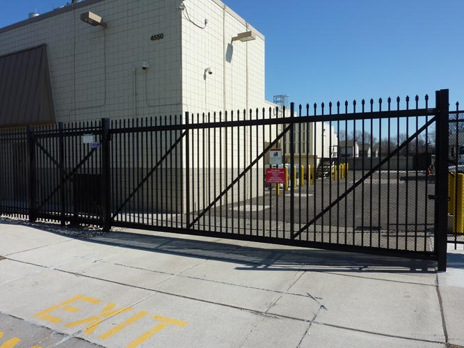 Parking systems electronic entrance gates industrial
